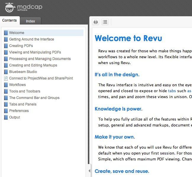 Online Bluebeam Revu User Manual for Version 2016