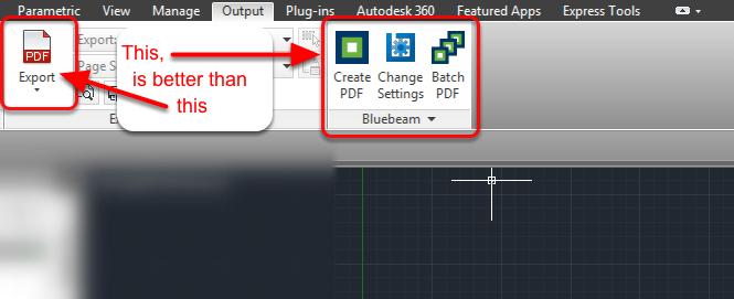 Bring your Bluebeam Revu 11 Toolbar Ribbon into AutoCAD 2014