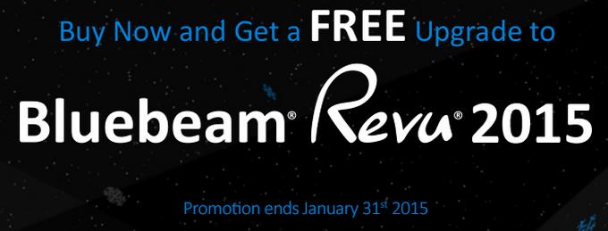 Bluebeam Winter Promo 2015