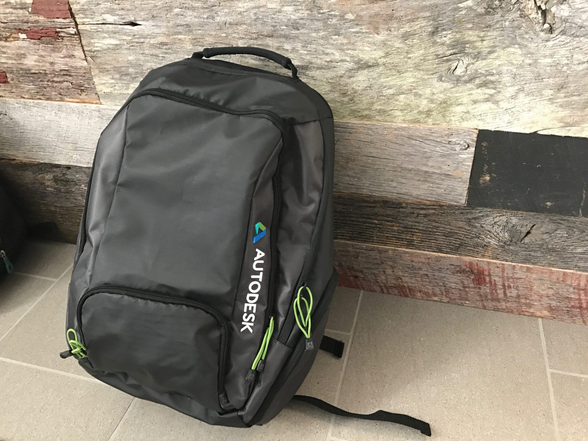 Autodesk University 2016 Backpack