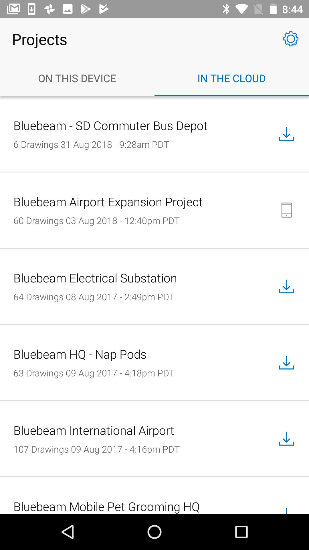 Bluebeam Drawings Android