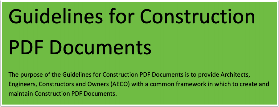 PDF Guidelines 1.0